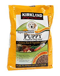 Kirkland Signature Super Premium Chicken, Rice And Vegetables Puppy Formula Review