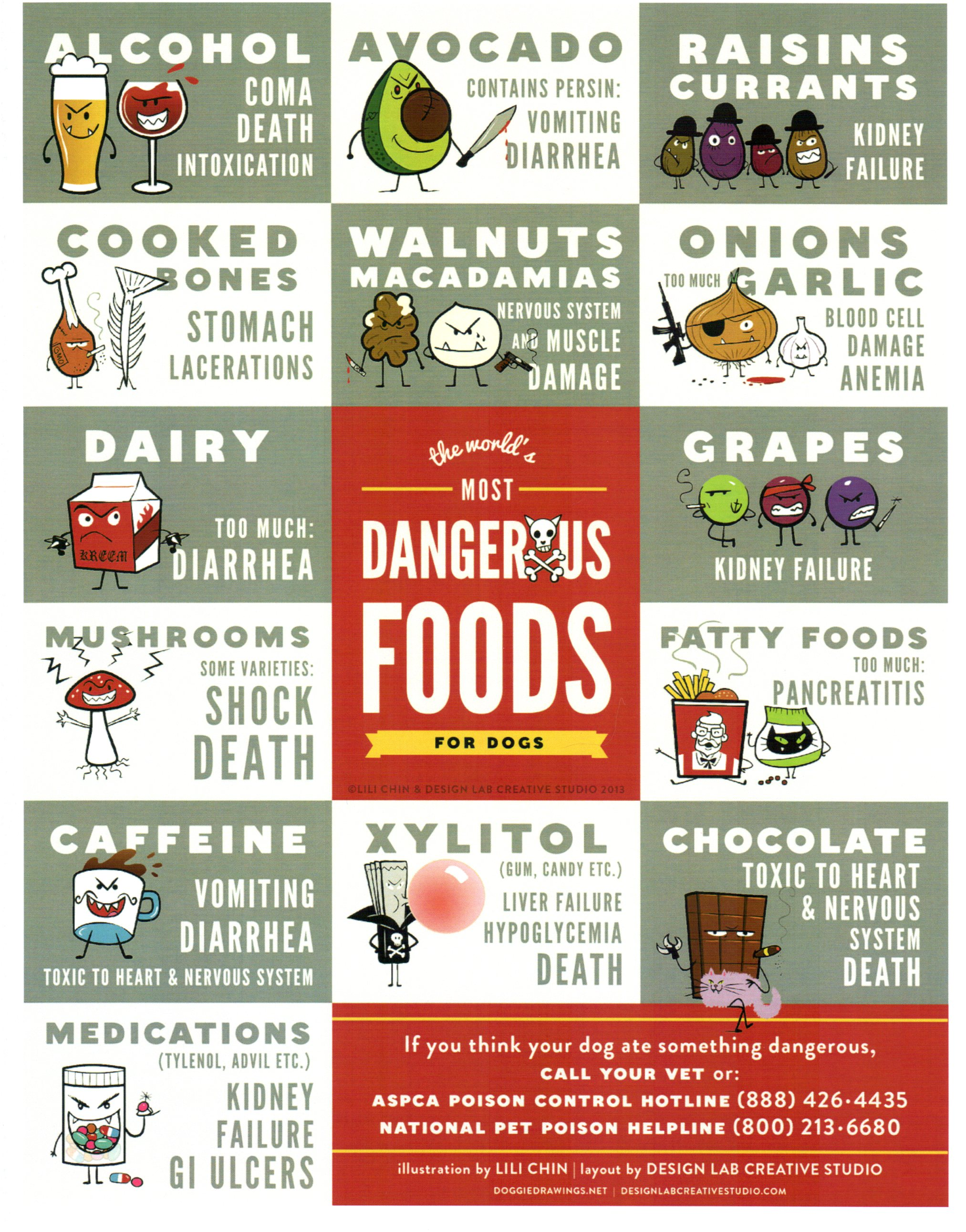 Dogs List Of Poisonous Foods